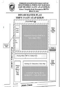 Peta Ruang Kelas SMP N 3 Satu Atap Kerjo